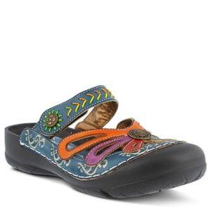 L'Artiste by Springstep Copa Clog slip on shoe 9